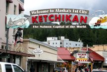 Travel Ketchikan, Alaska / First port of call: Ketchikan / by Mari Lou