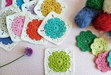 Crochet squares / by Kathy Marco