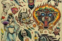 Tattoos / by Jacqui Fairbairn
