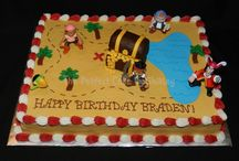 bday cakes / by Laurien Salesberry