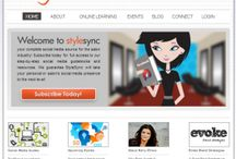 Blogs: Style Sync Social Media Education  / Style Sync  - Social media education for salons and stylists is your turnkey solution for all of your social media needs. Our www.stylesync.me blog is full of tips, updates and case studies to help you build your social media presence.  / by Style Sync