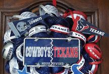 Texans/Cowboys-A House Divided / by Katy Boykin Conner