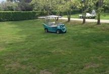 Custom Golf Carts :) / by ♥ Teresa DaSilva  ♥