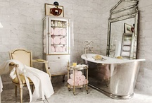 Bathroom {Salle de Bains} / by Malmaison {French Style For Your Home}