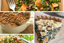 Foods and recipes / by Veronica Smith-Sawyer