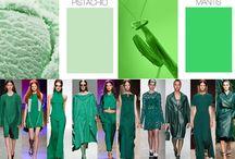 Zyla - Dramatic # 1 - Pistachio, Jungle Green, Emerald Green. / First Dramatic Green.  / by Sue Giannotta