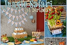 Safari Themed Birthday Party / by Janette