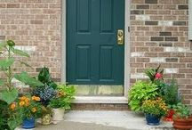 Front Door Color Ideas / by Sandy Sturdy