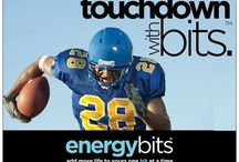 Touchdown With BITS™ / Love football? So do we! With high intensity football training and games, no wonder BITS™ and football go perfectly together!  / by ENERGYbits