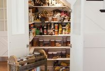 Pantry storage / by Gillian Gillies