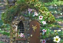 Fairy Gardens / Have you ever seen a fairy garden? They are a combination of a miniature garden and a doll house. Fairy gardens are hours of fun for the entire family. I hope these ideas get you inspired to make your own. / by Rachel @ Creative Homemaking