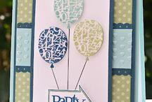 birthday cards / by Wendy VandeBogart