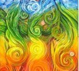 chakra's / by Ellen Louwes