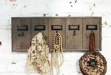 Beach House Craft Ideas / Fun ways to use driftwood, seashells and other vintage accents to use in your Coastal Cottage.  Visit us at http://NauticalCottageBlog.com for more beach fun! / by Sally Lee by the Sea, LLC