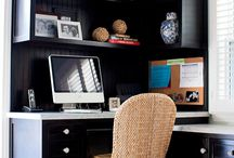 Small office space / by Tiffany Bufkin