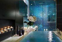 bathrooms / by Dorothy Vosnick