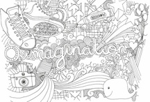 coloring pages / by Kristi Owen