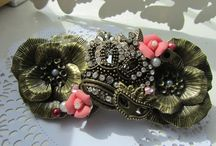 Hand-Crafted Hair Accessories / by UKCrafters onEtsy