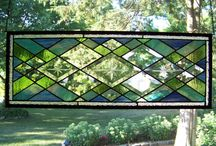 stained glass / by Yvonne Elizabeth