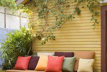 Block patio ideas / by Diane Becker
