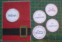 paper cards - christmas santa suit / by Susan Harwell Hendrick