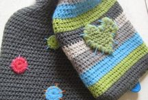 Hot Water Bottle Cover Patterns / Some great patterns to make your own hot water bottle covers. / by The Zany Knits