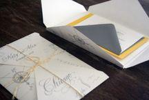 Wedding invites / by LRstationery