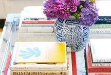 coffeetable styling / by Holly Mathis Interiors