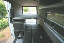Sprinter Van Conversion / Collecting ideas for my future conversion of a cargo sprinter van to an RV / by Frank Noe