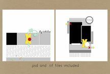 Pixel Scrapper Layouts / by Amara Van Lente