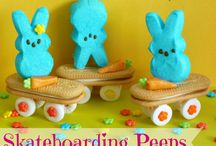 Peeps!  Fun Crafts and Recipes with Peeps Marshmallows / Fun recipes and crafts with Peeps Marshmallows / by Charlene Haugsven (My Frugal Adventures)