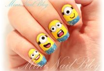 Fun Nails! :) / by Irene Nava