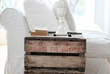 Ways to use pallets / by Alvina Torres