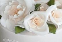 Fondant Wedding Cakes / by Diane Castro
