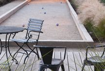 Yard Games / Having fun outside!  Bocce ball, ker-plunk, skee-ball, Yahtzee, horse-shoes, checkers and more!   / by Debbie Ferraro