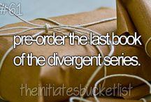 Divergent/Insurgent / by Carolyn Perkins