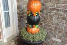 Pumpkins / Pumpkin decor / by Terri Ecker