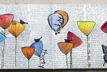 It's ART JOURNAL / MIXED MEDIA time!! / by Lily L.