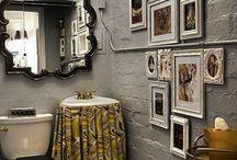 Possum Hollow Basement Bathroom / by Dina Woodard