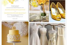 Gray & Yellow Wedding Ideas / by Natalie Kember