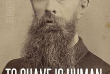 Beard-spiration  /  A fun board of beards and related items to inspire all clean shaven men.   / by Jacob Patrick