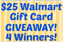 Gift Card Giveaways / by Stephanie Grant