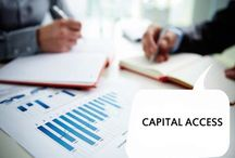 Capital Access / allows lenders to small and medium-size businesses to access the daily cash flows of borrowers, and collect daily remittances from them. The platform gives lenders a window into their customers daily business, and relies on payment processors to split the settlement of card transactions between the small business and its bank. / by SEO