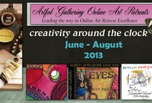 Art On line Classes / by Patricia Boyd