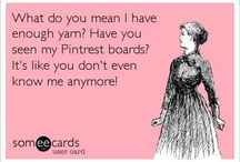 LOL Crochet...You're so funny... / by Amy Maurer