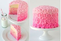 cakes! yum! / by Lacy Mallare Nielsen
