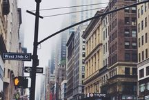 Lost in New York♥ / I LOVE NEW YORK♥ / by Becky♥