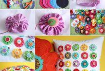 Fabric crafts / by Allen- Pruett
