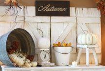 Autumn Decor  / by Misty Perkins