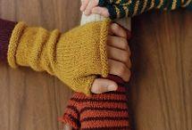 knitting/crocheting / by Domi